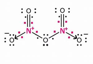 How Many Coordinate Bonds Are In N2o5