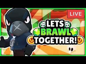 BRAWL STARS LIVE STREAM! - PLAYING WITH VIEWERS! + TROPHY ...