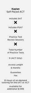 Self Paced Act Improve Your Score The Princeton Review