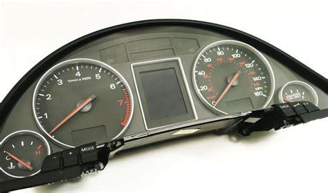 car manuals free online 2003 audi s6 instrument cluster gauge cluster 03 2003 audi a4 b6 8e0 920 950 l instrument speedometer oe 8e0 920 950 l