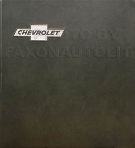 1973 Chevy Body Repair Shop Manual Original