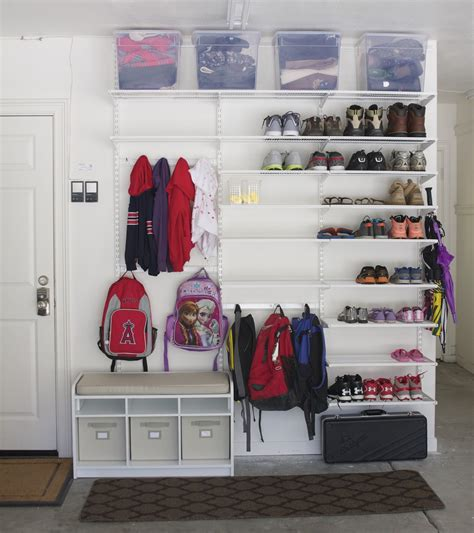 garage shoe storage operation organization sam from simply organized garage