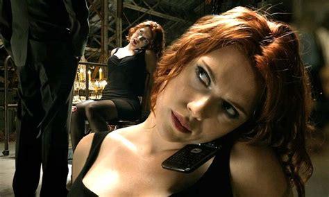scarlett widow avengers scene marvel assemble johansson film johanssons