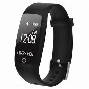 S1 Smart Bracelet Waterproof Heart Rate Monitor Fitness ...