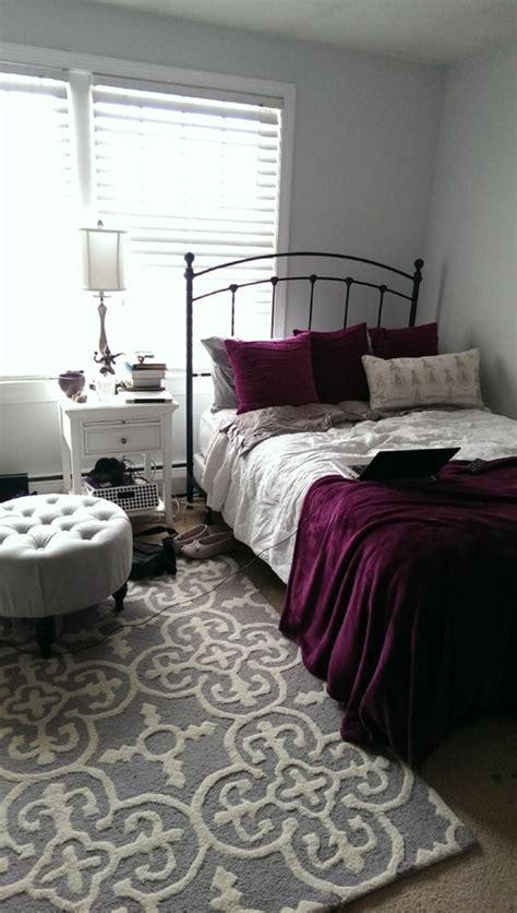 chambre lilas et gris ides pour la dcoration dune chambre gris et violet