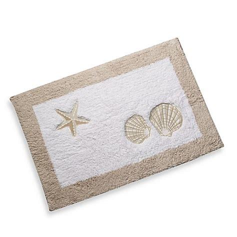 themed bathroom rugs sand and sea bath rug bed bath beyond