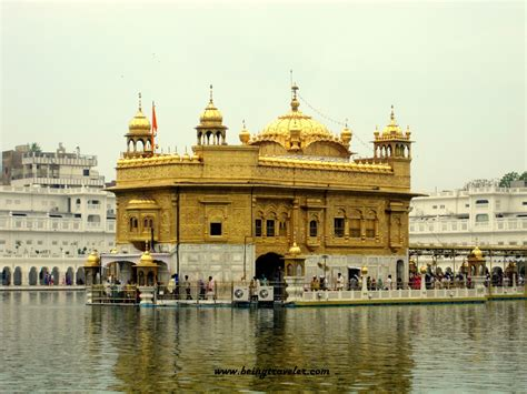 The Golden Temple Amritsar Punjab India Being Traveler