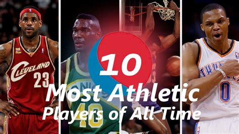 Best All Time Top 10 Most Athletic Nba Players Of All Time