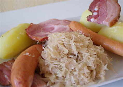 recettes cuisine alsacienne traditionnelle choucroute recettes cookeo