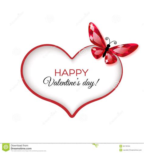 Happy Valentine S Day Greeting Card Stock Vector ...