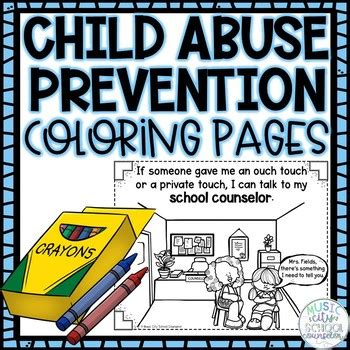 child abuse prevention erins law set   coloring pages tpt