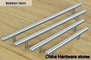 kitchen furniture handles furniture hardware modern solid stainless steel kitchen cabinet handles bar t handle c c 320mm