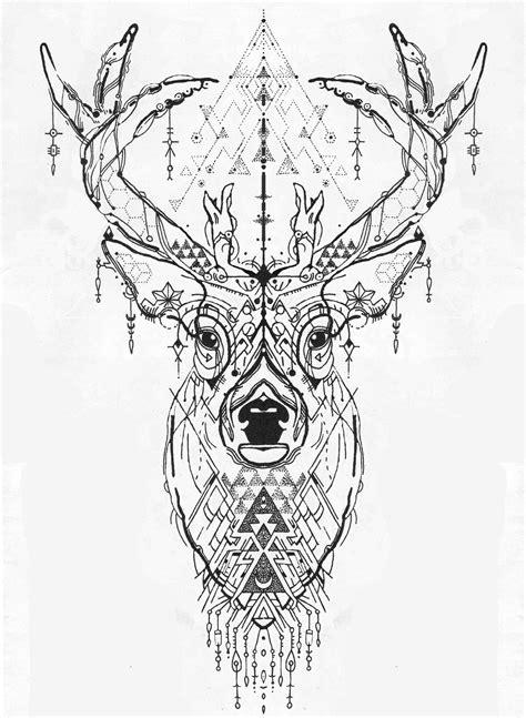 epingle par  elis sur art inspiration deer tattoo