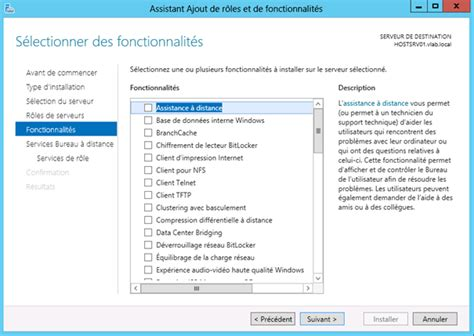 installer bureau a distance windows server 2012 installation du r 244 le de gestionnaire de licences des services bureau 224