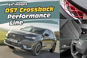 Ds 7 Crossback Performance Line Moteur : en images ds7 crossback performance line la version sport de la ds7 photo 1 l 39 argus ~ Maxctalentgroup.com Avis de Voitures