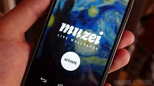 Muzei, the famous works of art live wallpaper