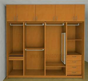 Modern bedroom clothes cabinet wardrobe design abode for Cabinet design bedroom