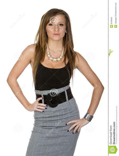 vetement de bureau adolescent de bureau de vêtement photographie stock