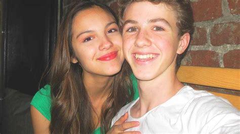 olivia rodrigo  dating boyfriend ethan wacker high