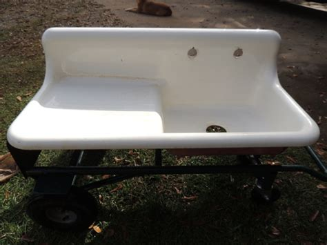 antique sinks with drainboards antique farm farmhouse drainboard procelain kitchen sink