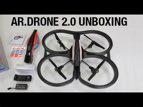 ardrone  unboxing youtube