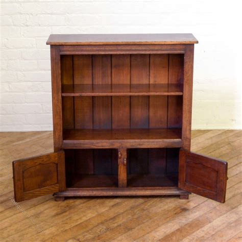Oak Bookcase by Georgian Style Oak Bookcase Antiques Atlas