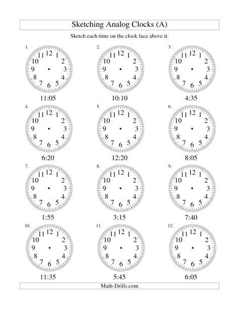 st grade time worksheets pictures st grade