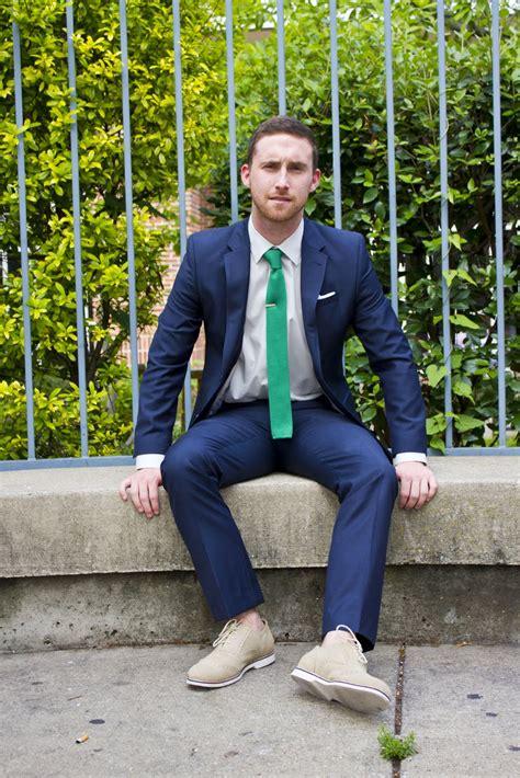 tie ties knit suit navy suede bucks wear official bright sand dapper summer