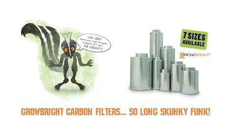 growbright carbon air filter for indoor garden grow rooms