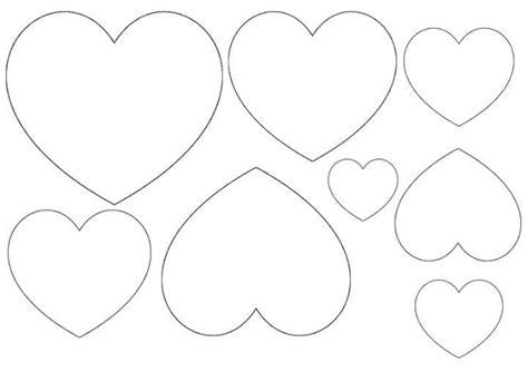 Molde de coração de feltro para imprimir - Como Fazer