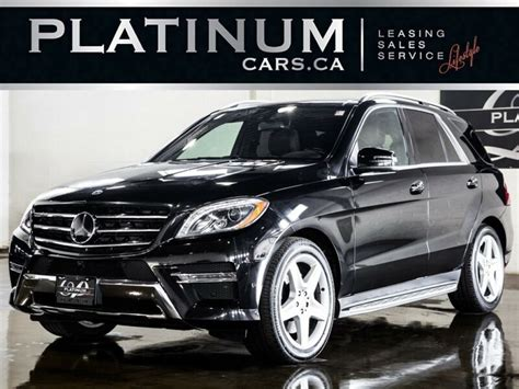 15,904 new and used vehicles for sale in ontario. 2014 Mercedes-Benz M-Class ML350 4MATIC, NAVI, | Cars ...