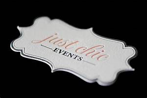Lovely die cut business cards for Dye cut business cards