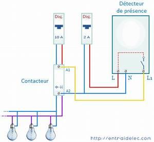 Branchement Detecteur De Mouvement : clairage par d tecteur de mouvement pr sence zonetronik ~ Dailycaller-alerts.com Idées de Décoration