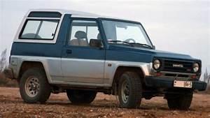 1984 F75  F77  Feroza  Fourtrak  Rocky