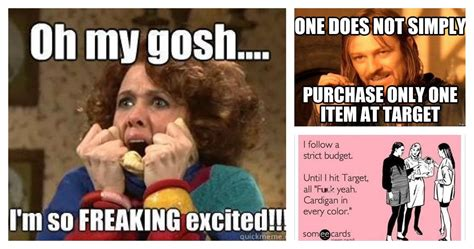 Target Memes - 15 memes about target runs that all of us can low key relate to