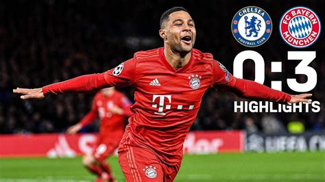 All Goals and Emotions of FC Bayern's 3-0 over Chelsea FC ...