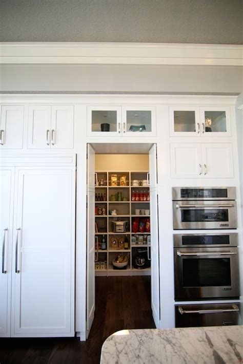 hidden pantry transitional kitchen neighborhood builders pantries pinterest cabinets