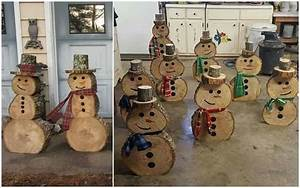 Creative Wood Log Crafts For Your Home Decoration