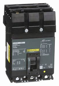 Square D Circuit Breaker  40 Amps  Number Of Poles  3
