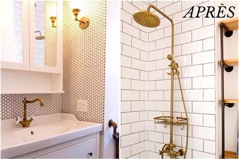 avant apr 232 s une salle de bain avec cachet vintage