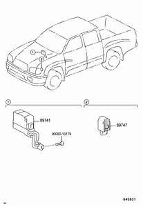 Toyota Tundra Receiver  Door Control