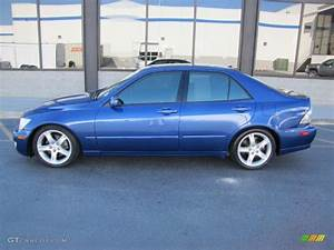 Intensa Blue Pearl 2002 Lexus Is 300 Exterior Photo