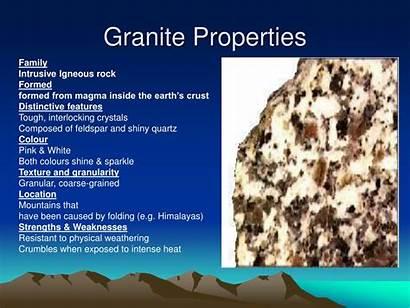 Granite Igneous Properties Rock Intrusive Ppt Powerpoint