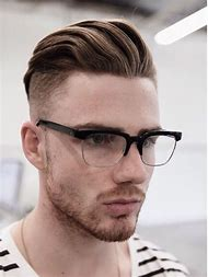 Men Hairstyles with Glasses