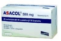 Asacol (Mesalamine)  Proctitis Mesalamine