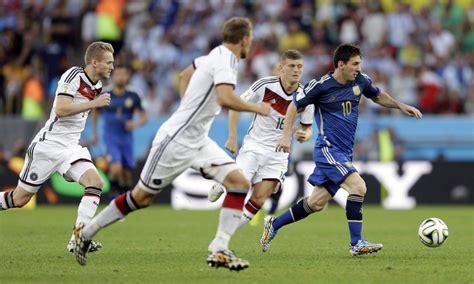 Alemanha x Argentina no Maracanã - Jornal O Globo