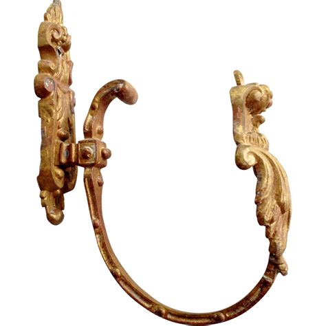 antique bronze dor 233 drapery tie back from