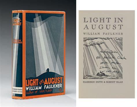 light in august faulkner william light in august new york harrison