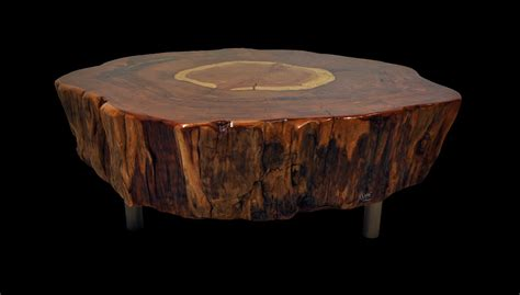 coffee tables ideas top round brown round unique wood tree trunk coffee table ideas full