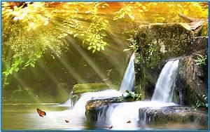 Best animated waterfall screensaver